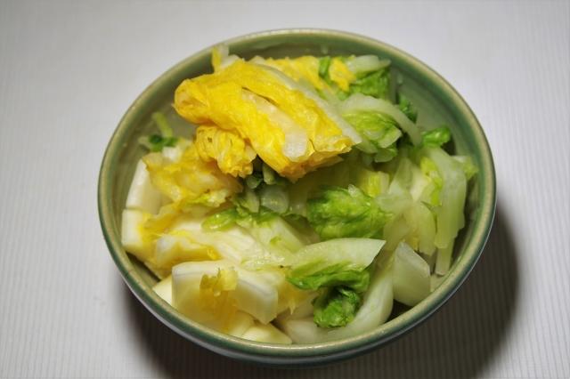 ヒルナンデス 白菜の浅漬け餃子
